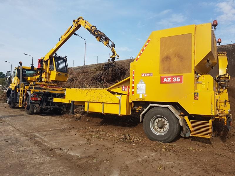 Holzschredder Jenz AZ35